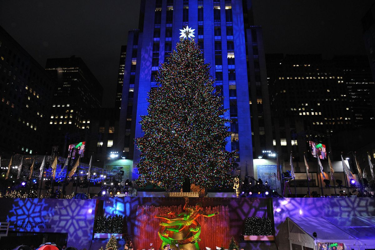 Rockefeller Center Tree Lighting Channel Rockefeller Center Christmas Tree Lighting 2015: Time