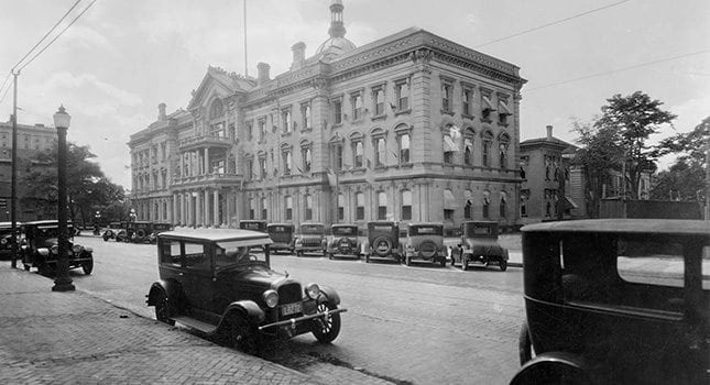 Trenton State House circa the 1920s.  Photo By Credit: New Jersey State Archives, Department of State