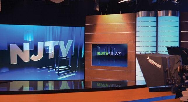 NJTV News' studio in Montclair.