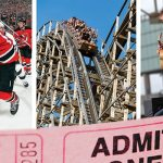 Sports, amusement rides, concerts and more … New Jersey has it all. From left to right: New Jersey Devils at Prudential Center, El Toro roller coaster at Great Adventure and Lady Antebellum in Atlantic City. (Photos courtesy of Getty Image Sport, Thinkstock; iStock Editorial, Thinkstock; the Atlantic City Convention & Visitors Authority)