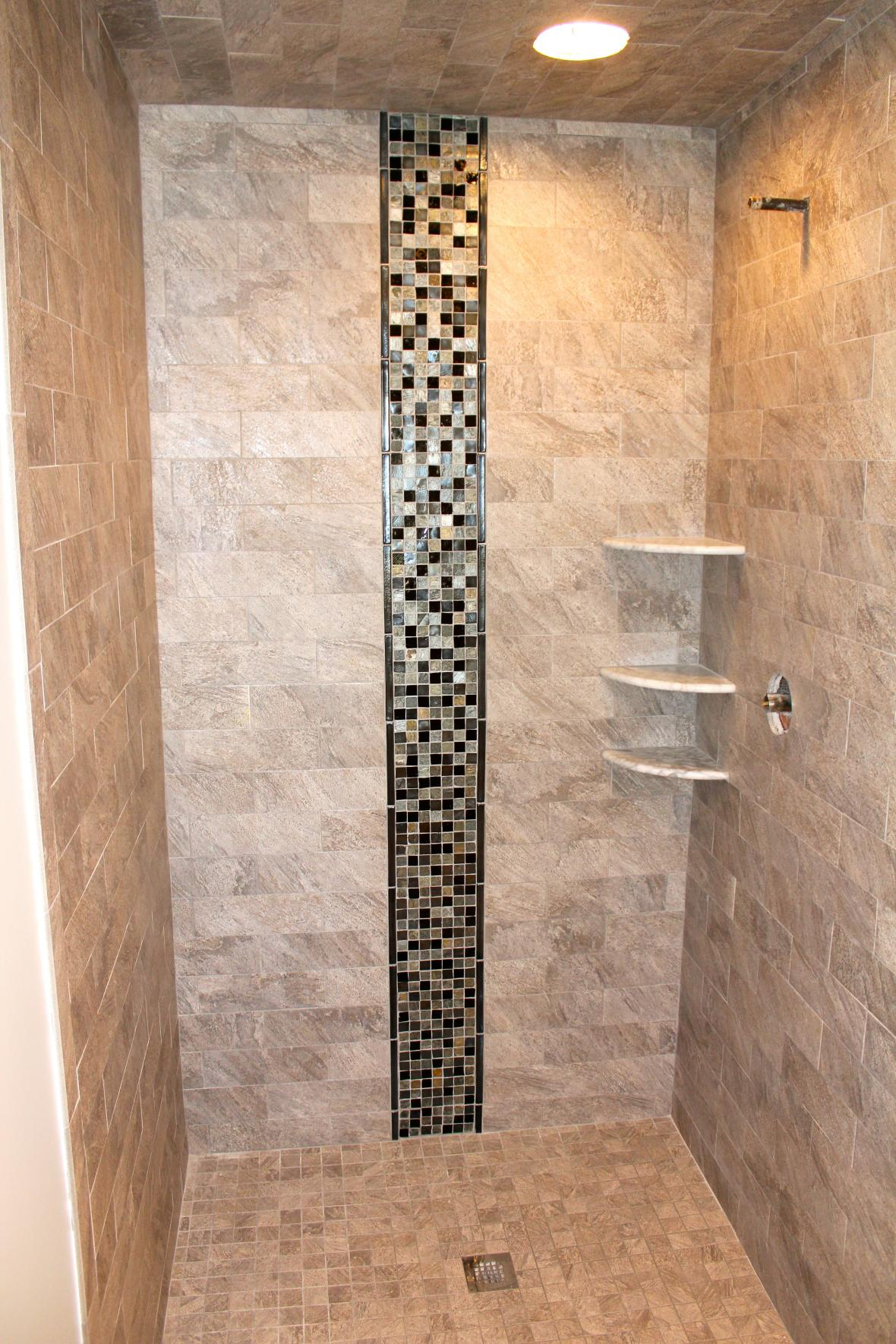 Porcelain Or Ceramic Tile For Shower Pictures Of Showers With Tile 2017 - Grasscloth Wallpaper