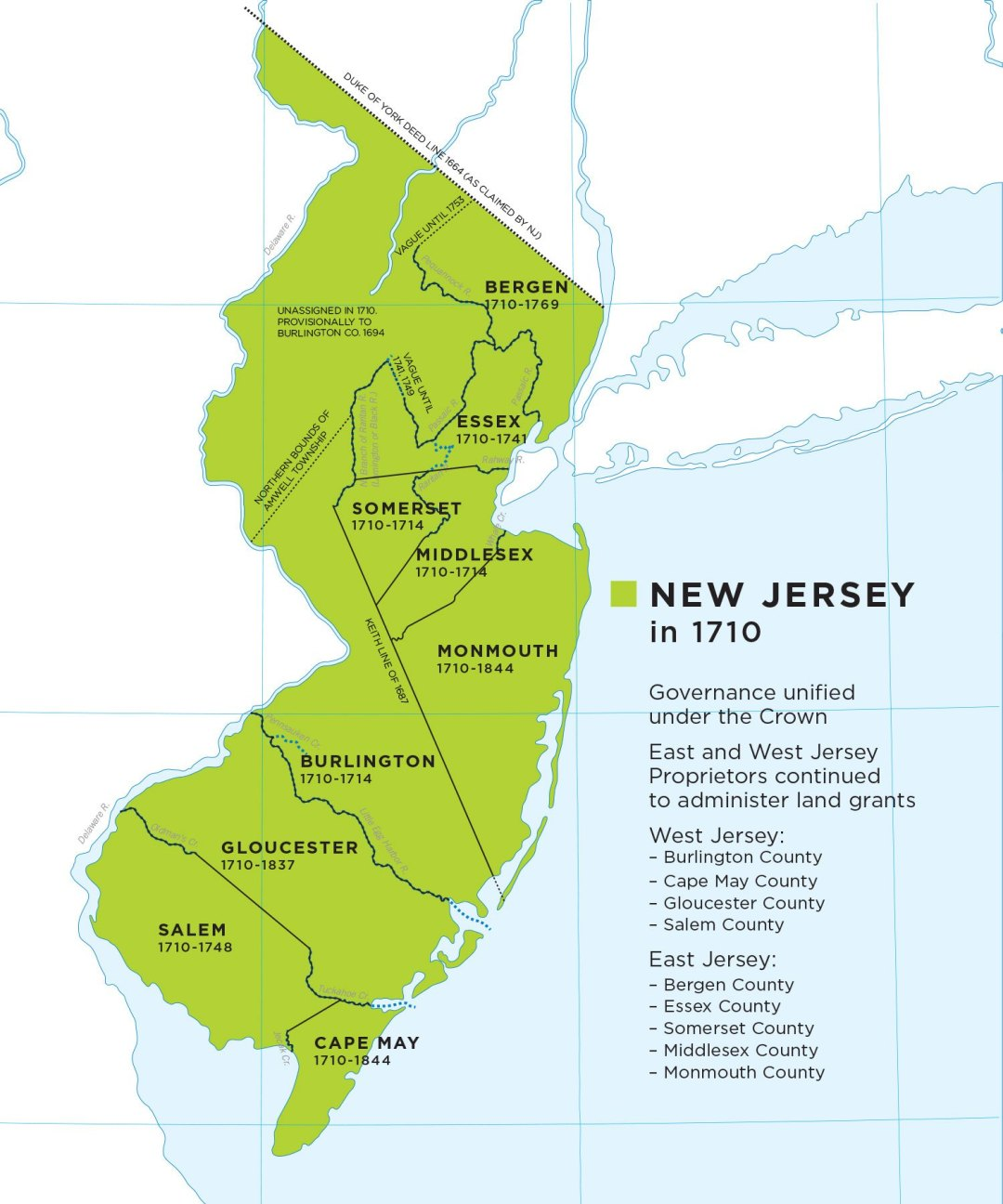 New Jersey At 350  A Short History Of Colonial New Jersey