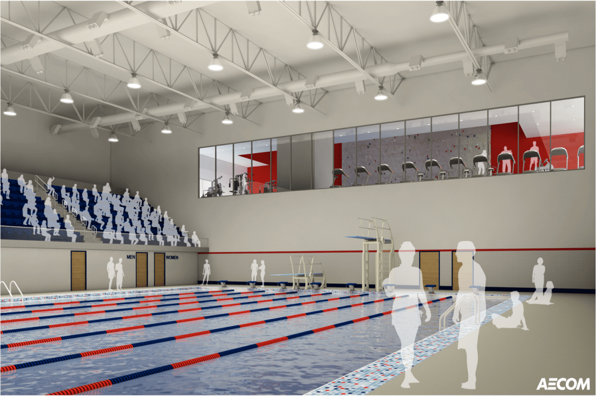 New renderings show interior of Athletic Center opening in 2017