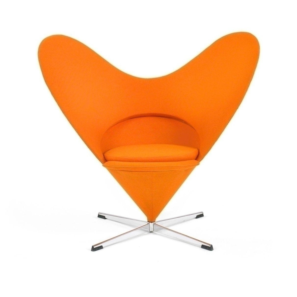 Panton Heart Chair Verner Panton Njmodern Furniture