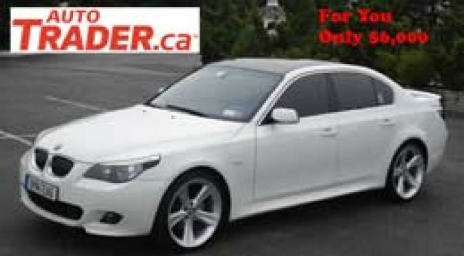 Today's best Autotrader scam deal - 2005 BMW 530 only $6,000