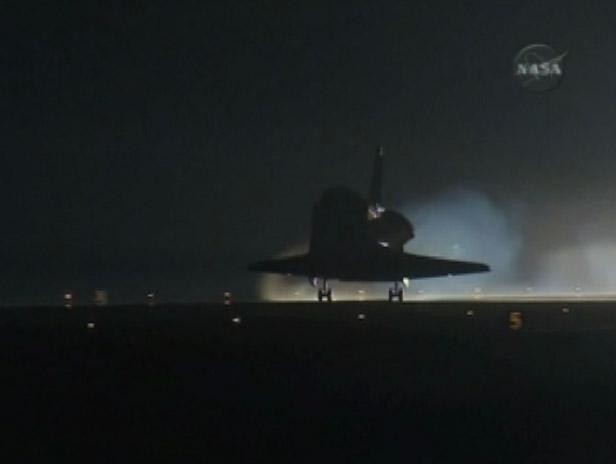 STS130 Landing short