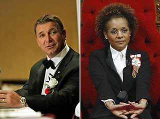 Wheelchair star Rick Hansen says no but wasn't asked, Michaelle Jean can only cool her heels
