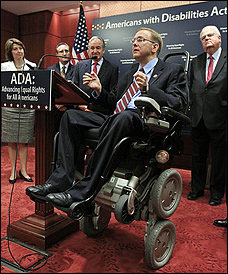 Anniversary of ADA brings presidential order to hire more disabled workers