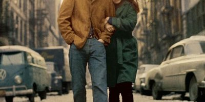 Suze Rotolo with Bob Dylan captured on the cover of Freewheelin Bob Dylan