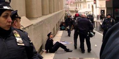 Former Philadelphia Police Captain Ray Lewis arrested at OWS