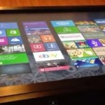 Windows 8 on giant 40 inch surface