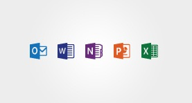 Office 2013 RT icons from the Microsoft Store