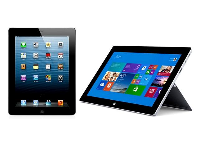 iPad 4 versus Surface 2