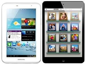 Samsung v iPad Android # 1 in Tablet Sales As Apple Falters photo