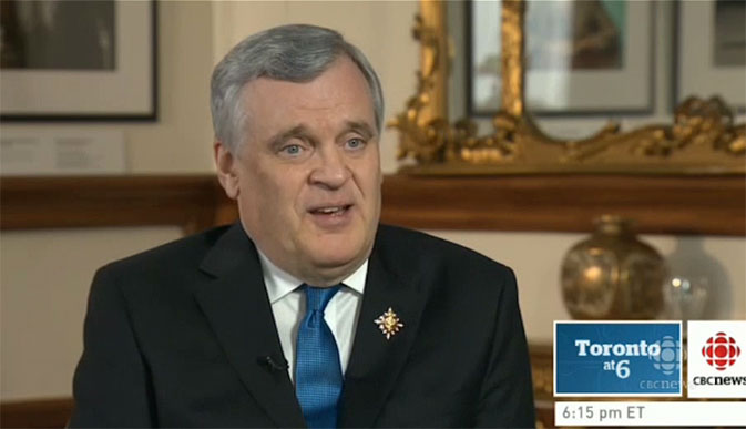 David Onley Queen's Representative Overcomes Polio