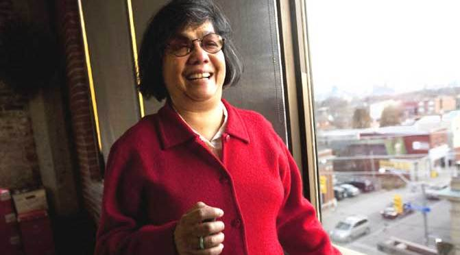 Donna Jodhan celebrates winning her human rights case against the Federal Government (Photo The Star)