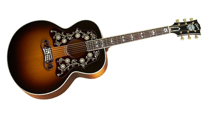 Only 1 Guitar Left Bob Dylan's Gibson J-200 Player's Edition