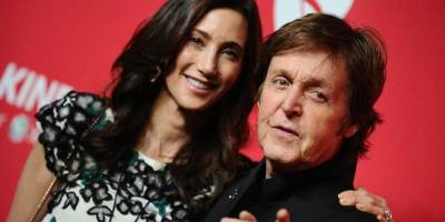 Paul McCartney et sa belle epouse Nancy Shevell - Paris Match photo