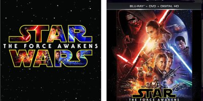 Star Wars The Force Awakens Blu-Ray Digital HD