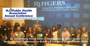 Kean Students at NJPHA Annual Conference