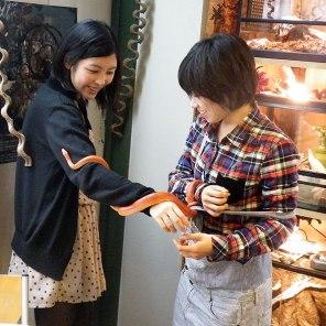 japanski kafe sa reptilima