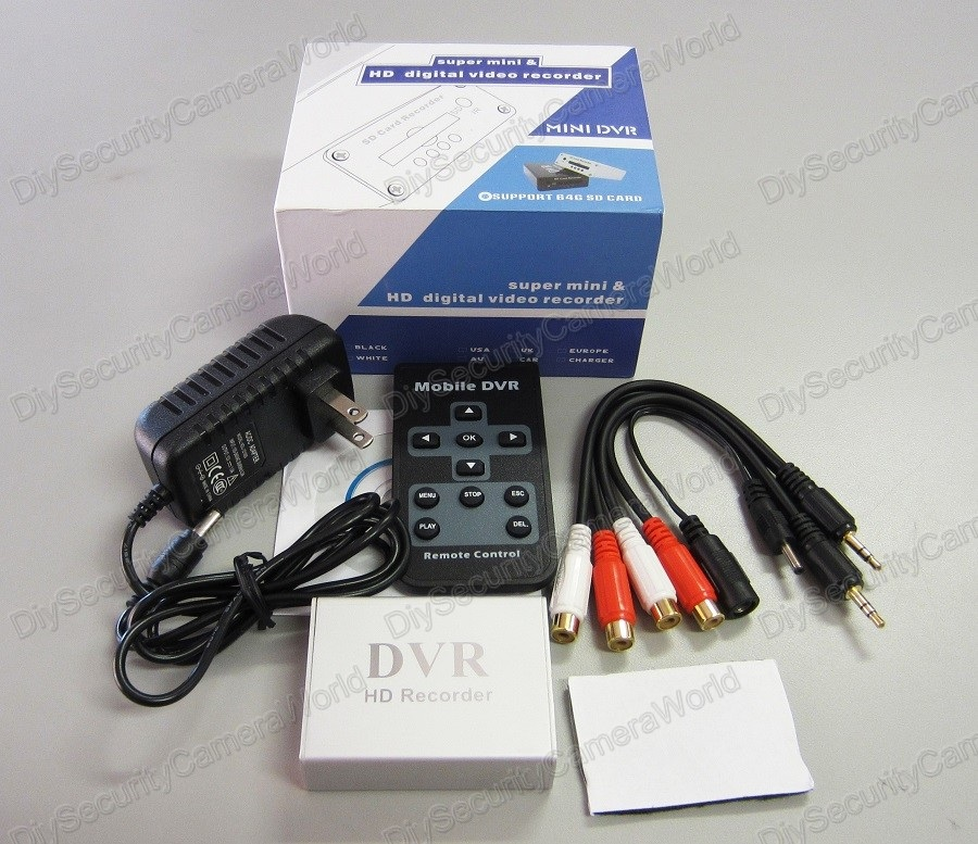 Wholesale (10PCS) 1 channel smallest MINI HD DVR xbox DVR eBay
