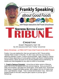 Chef Frank's Top 10 Crostini Recipes
