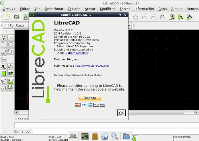 Librecad Alternativa Open Source A Autocad Camino Gnu
