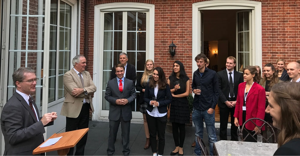 Blok Eindhoven Remarks By Chargé D'affaires At Fulbright Reception | U.s
