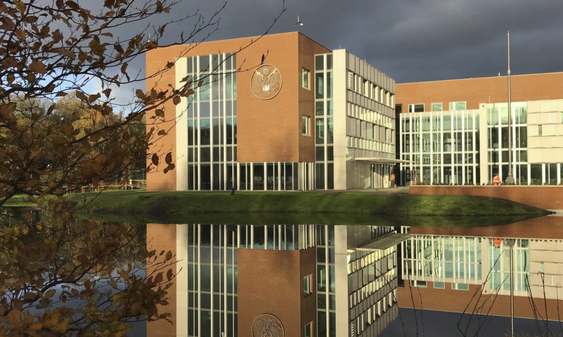 Blok Eindhoven U.s. Embassy Moving To Wassenaar | U.s. Embassy And