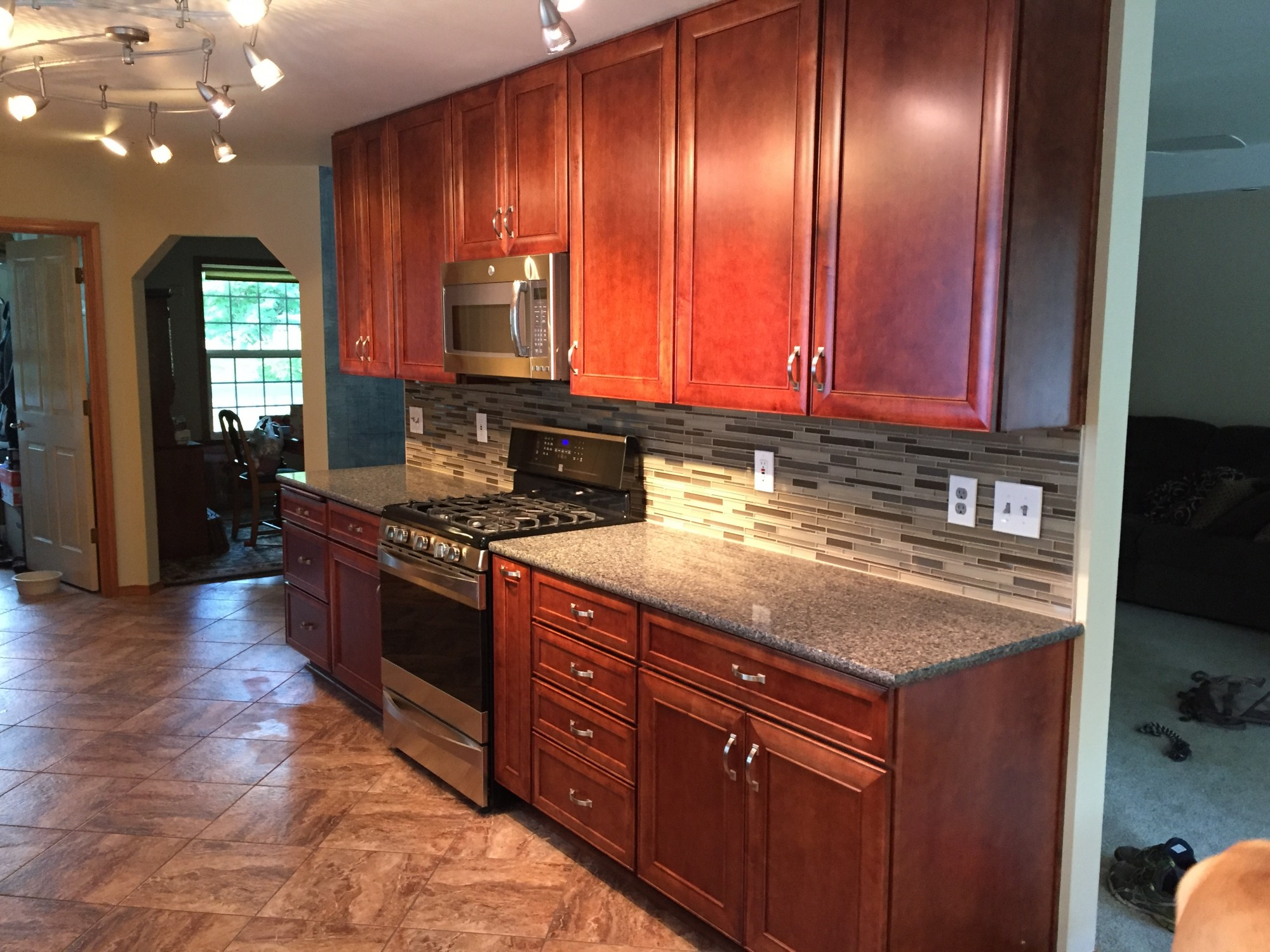 Kitchen Cabinets Newfoundland Updated Galley Kitchen Cabinets Port Orchard Wa