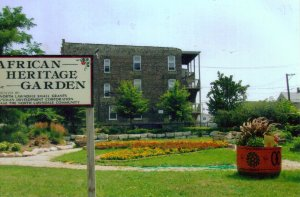 African Heritage Garden.