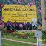 Velma Johnson Memorial Garden.