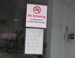 No Smoking Clarendon House