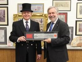 Freeman of City of London March 2013