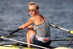 Karolin Florijn, een van de favorieten onder de junioren. (foto: Ellen de Monchy).