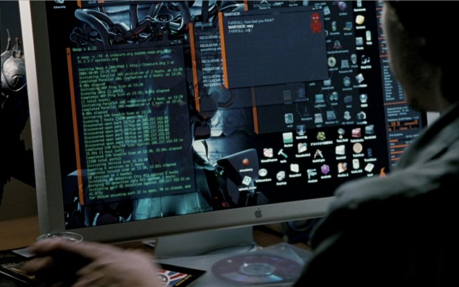 3d Hologram Wallpaper Gif Movies Featuring The Nmap Security Scanner