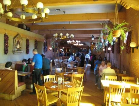 The interior at Tomasita's