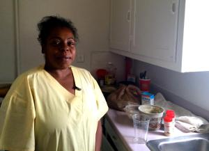 Despite working seven days a week, Kimberly Jones participates in SNAP to make ends meet. Photo Credit: MARISA DEMARCO / KUNM