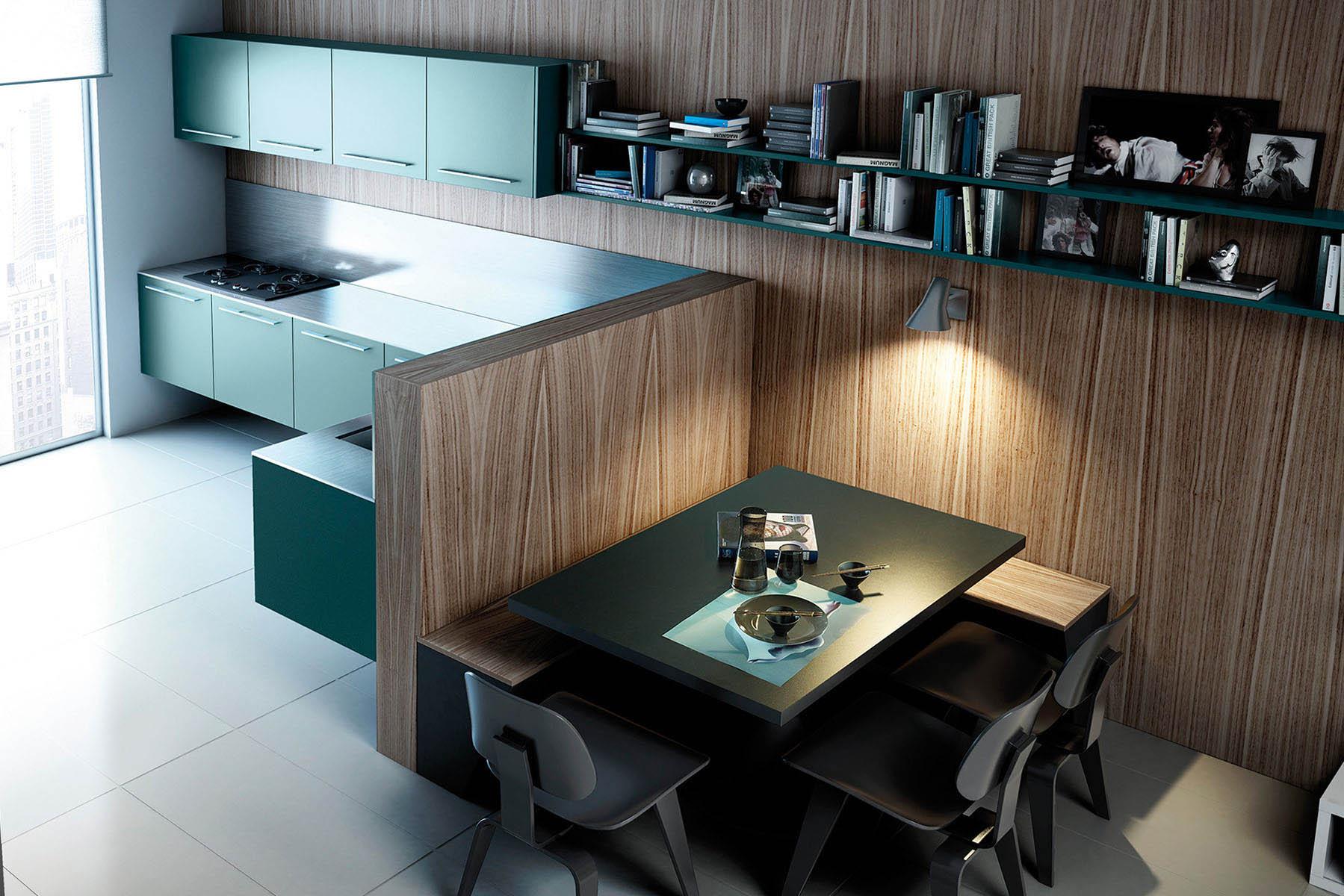 Muebles De Cocina Logos | Moretti Con Logos El Color En La Cocina ...