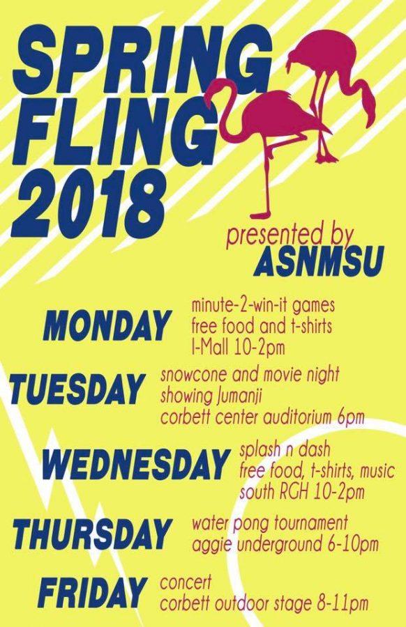 ASNMSU hosts Spring Fling 2018 - NMSU Round Up