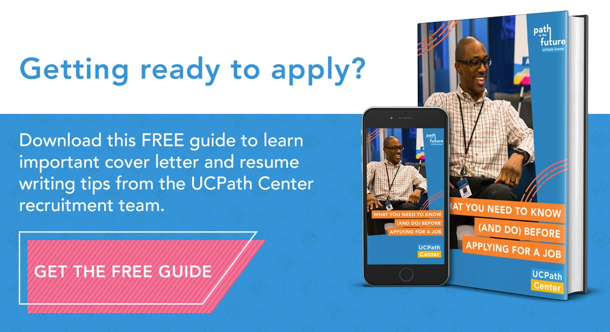 How to Craft a Cover Letter That Will Make an Impression - UCPath