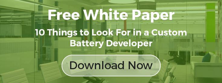 Looking for the Right Custom Battery Developer