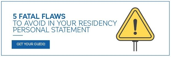 4 Things to Avoid in Your Residency Personal Statement - residency personal statement