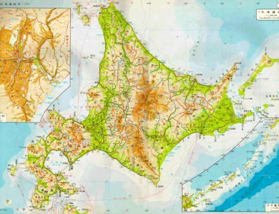 1983年頃の北海道地図改め1971年の北海道地図