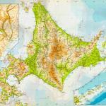 1971年の北海道地図|天北線・羽幌線・名寄本線・標津線・胆振線など今は亡き路線が掲載(1983年は間違い)