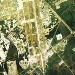 1975年の千歳空港の航空写真(衛星写真)