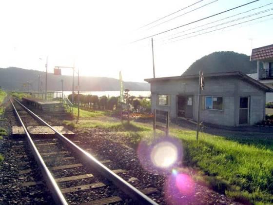 JR東雲駅(旧駅舎) Wikipediaより