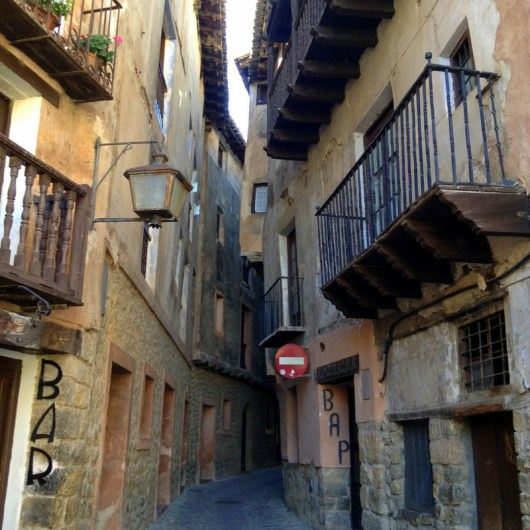 Madrid to Barcelona, Albarracin