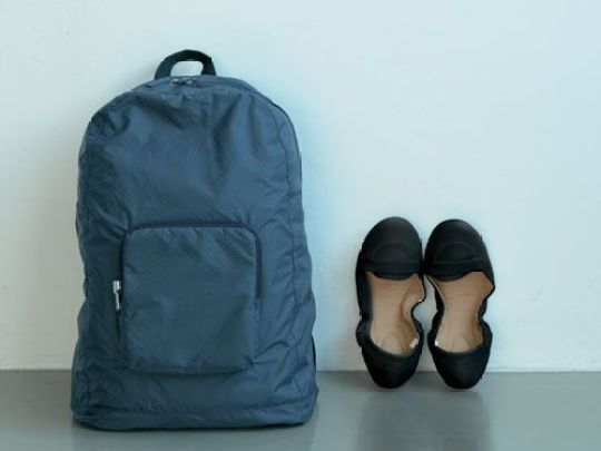 Muji Foldable Backpack - Travel Essentials
